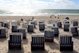 Aus der Stadt direkt an den Strand: das geht in Westerland ganz schnell