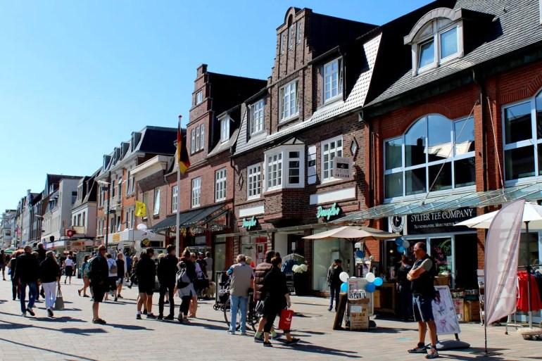 In Westerlands Fußgängerzone ist immer etwas los