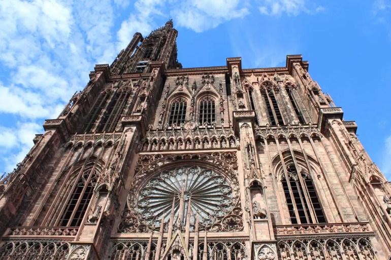 Beindruckend: die Westfassade der Straßburger Kathedrale
