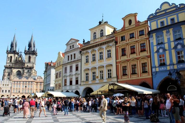 Prags zentraler Platz und gute Stube: der Altstädter Ring