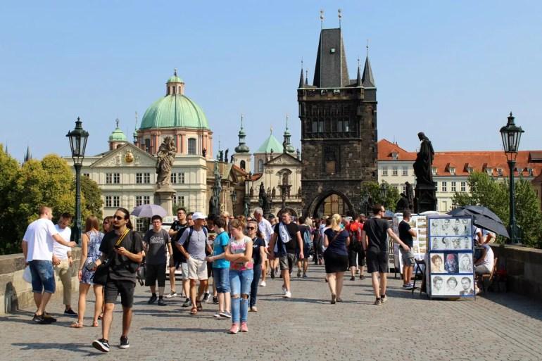 Der Altstädter Brückenturm bildet den Abschluss der Karlsbrücke zur Altstadt