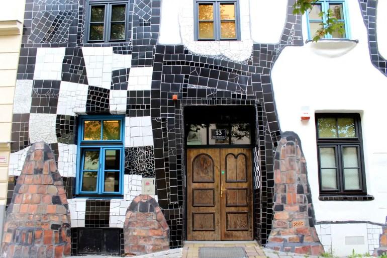 In Wien überall präsent: die Architektur von Hundertwasser