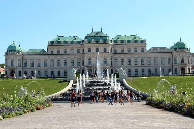 Zuhause für Kunst: das Schloss Belvedere