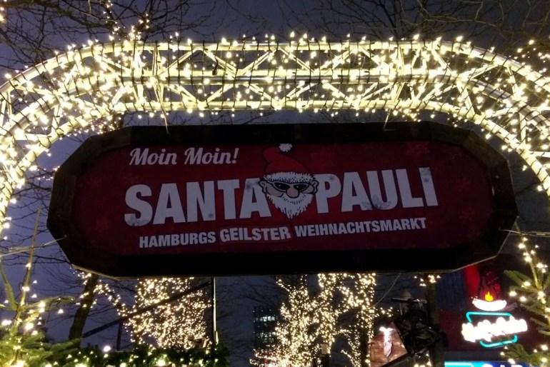 """Auf St. Pauli ist auch der Advent anders - und Santa Pauli """"Hamburgs geilster Weihnachtsmarkt"""""""