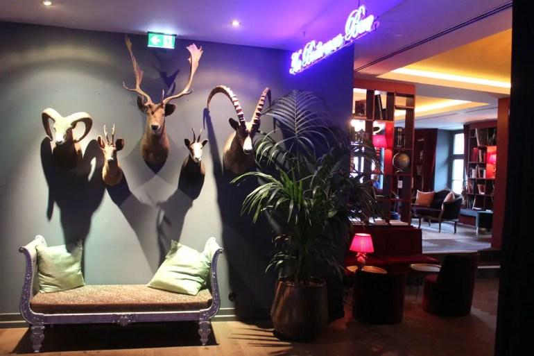 Das Ziel für einen guten Drink: die Boilerman Bar im ersten Stock vom 25 hours Hotel München