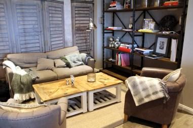 Fast wie zu Hause im Wohnzimmer: die gemütlichen Sofaecken im Holyharbour