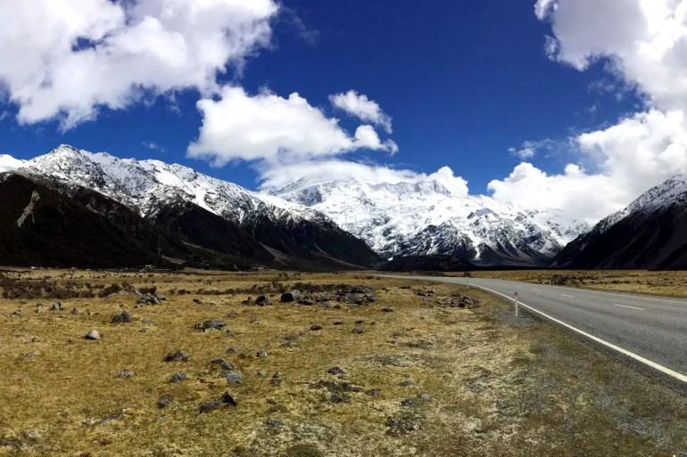 Mit seinen 3.764 Metern ist der Mount Cook der höchste Gipfel Neuseelands