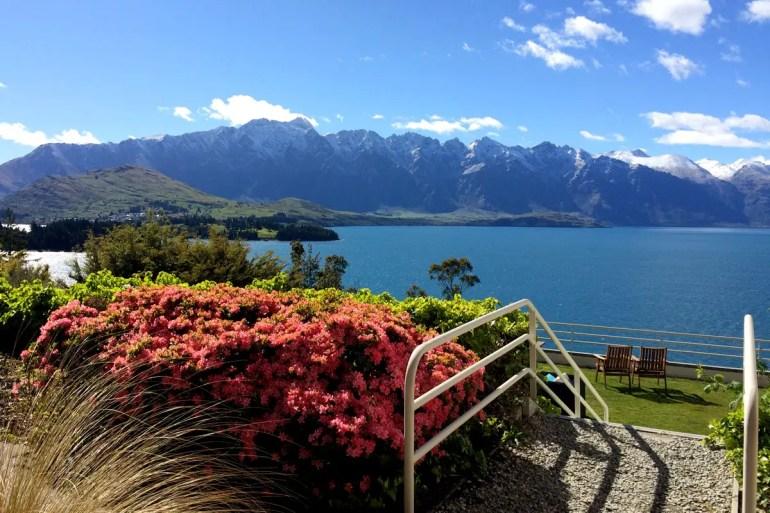 Atemberaubende Ausblicke über den Lake Wakatipu in Queenstown