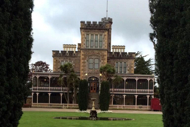Mit Larnach Castle hat Neuseeland auch ein Schloss zu bieten