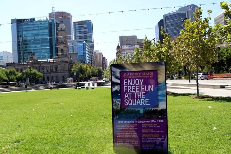 Adelaide ist eine grüne Stadt und die Parks sind nicht nur im Sommer beliebter Treffpunkt