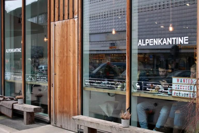 Ein Beispiel für leckere Alpenküche in Hamburg: die Alpenkantine in Eimsbüttel