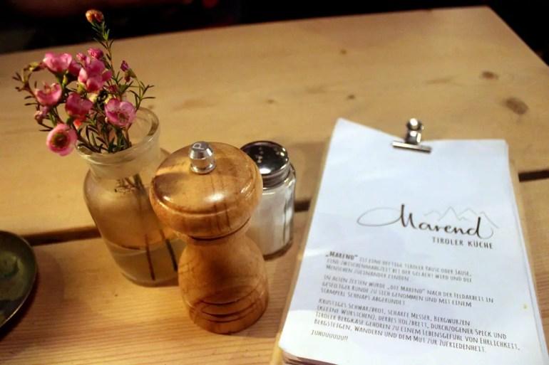 Tiroler Küche bietet das Marend im Karolinenviertel auf St. Pauli