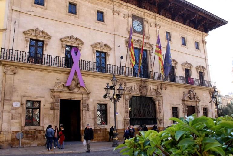 Palmas Rathaus am Plaça de Cort