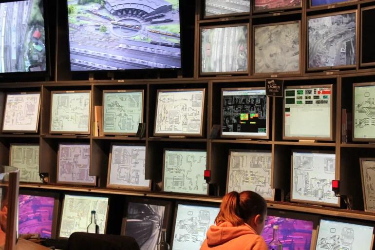 In der Schaltzentrale laufen alle Informationen zusammen