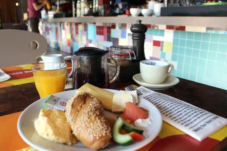 Im 1500 foodmakers gibt's auch das Frühstück