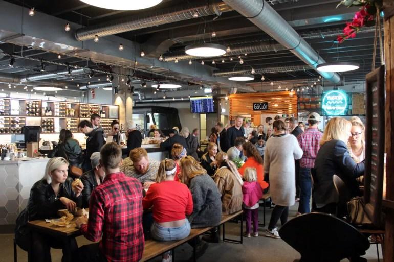 Reykjavíks Grandi-Viertel ist ein Hotspot für Foodies: Anfang Juni hat die Grandi mathöll eröffnet