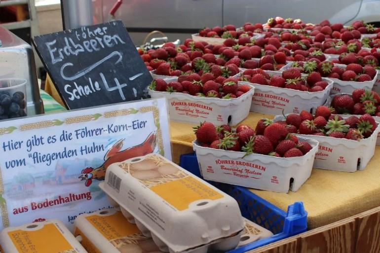 Lecker: Frische Föhrer Erdbeeren