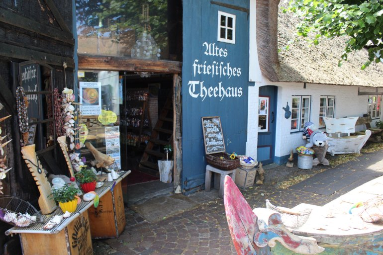 Altes Friesisches Teehaus in Nieblum