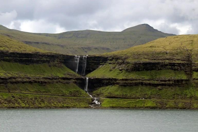 Fossá ist der höchste Wasserfall der Färöer