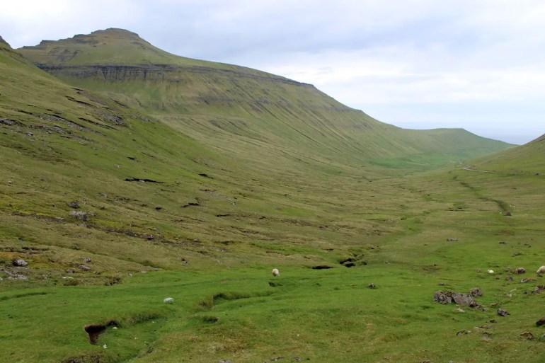 Grün ist die Farbe der Färöer Inseln