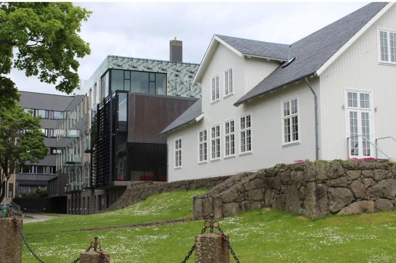 Das Parlament in Tórshavn