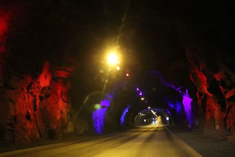 Kunst im Tunnel sorgt für Abwechslung