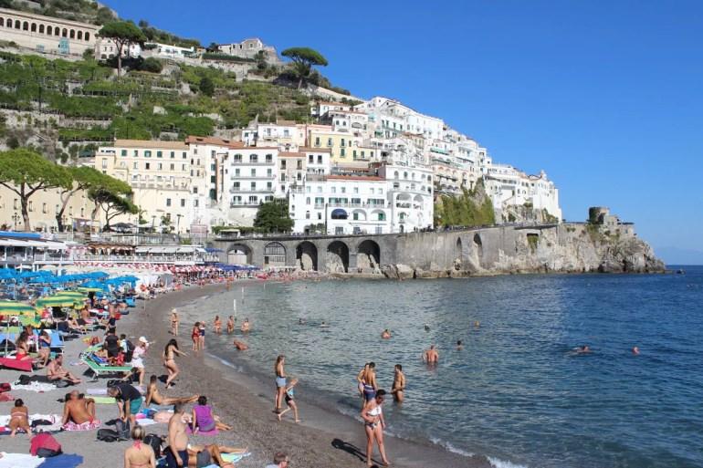 Baden direkt im Zentrum von Amalfi