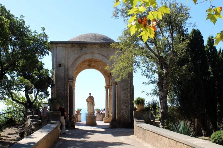 Die Gärten der Villa Cimbrone sind eines der Highlights in Ravello