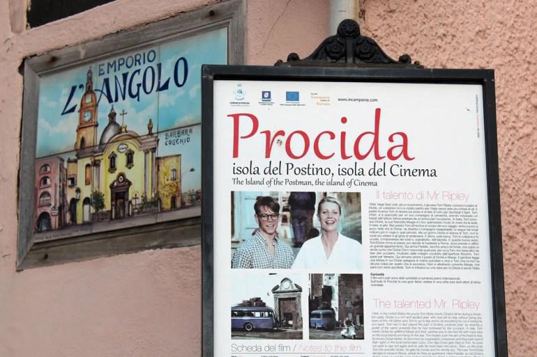 Das kleine Inselchen Procida ist immer wieder Filmkulisse