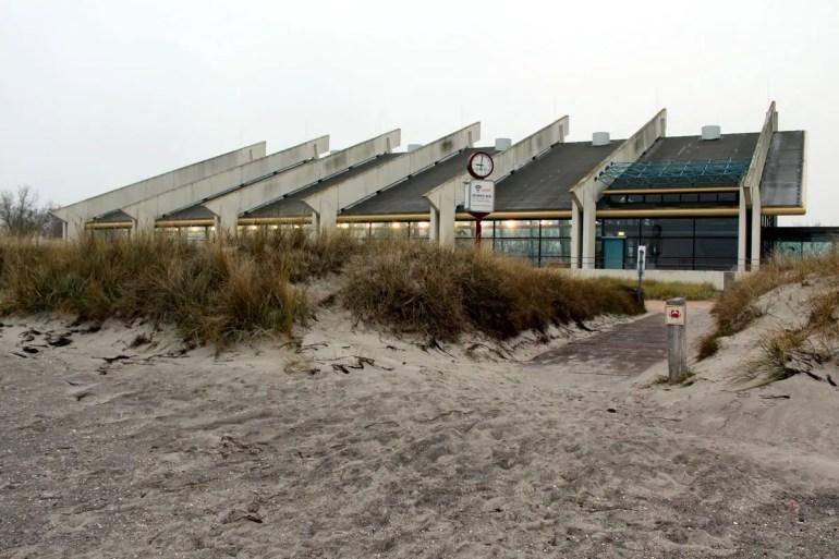 Ein STück Architekturgeschichte: das Meerwasserwellenbad auf Fehmarn
