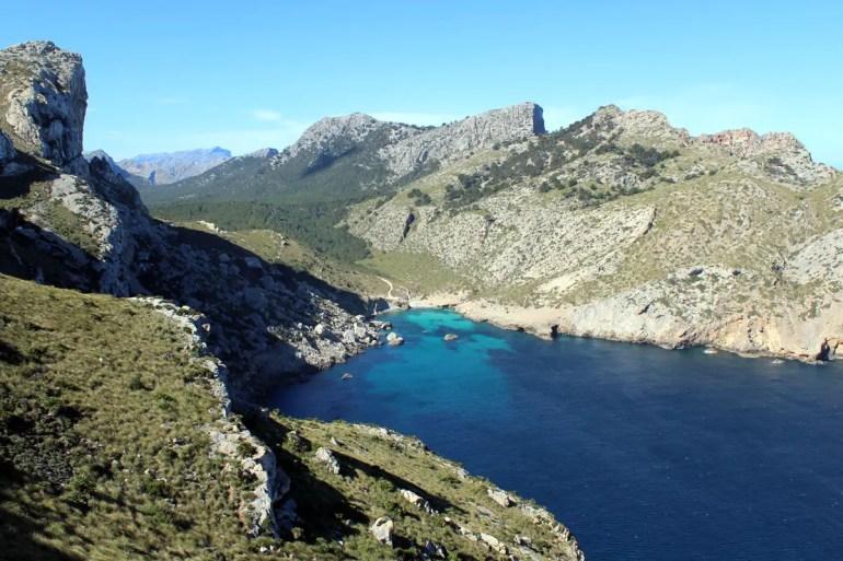 Die Bucht Cala Figuera zählt zu den schönsten der ganzen Tramuntana