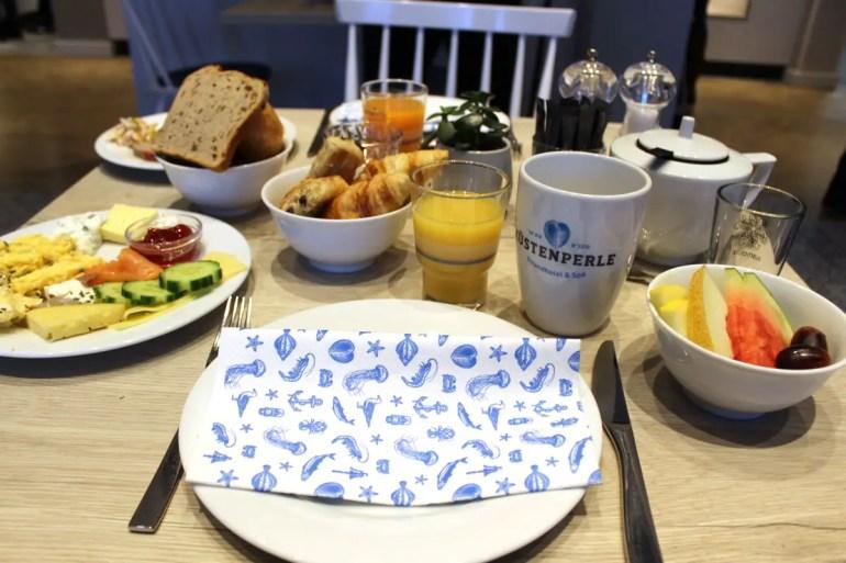 Lecker: Das Frühstück im Restaurant Deichperle