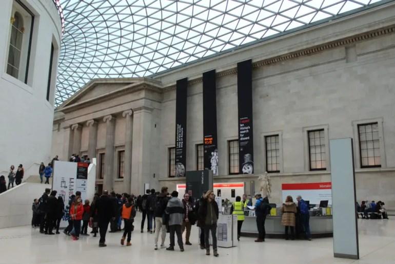 Spektakulär: Der nach Entwürfen von Norman Foster überdachte Innenhof vom British Museum