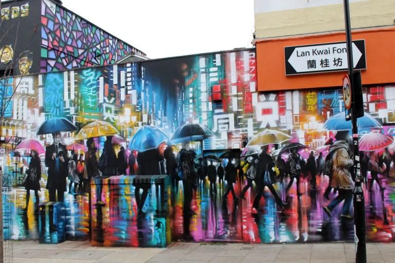 In Camden findest du viel Streetart