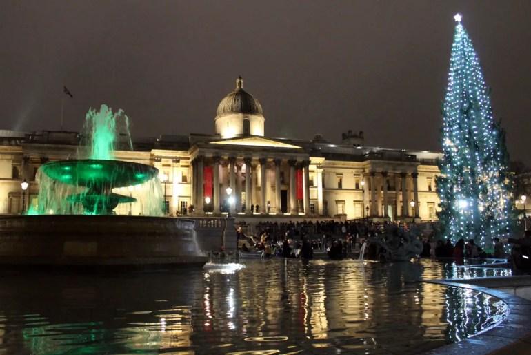 Seit 1947 spendet Norwegen den Weihnachtsbaum am Trafalgar Square