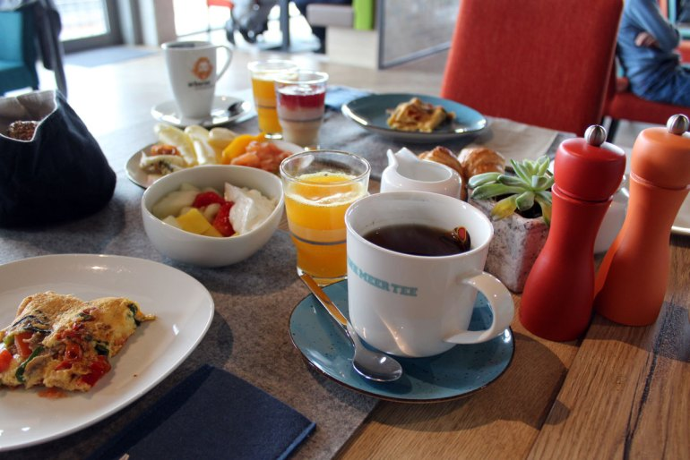 Das Frühstück lässt fast keine Wünsche offen