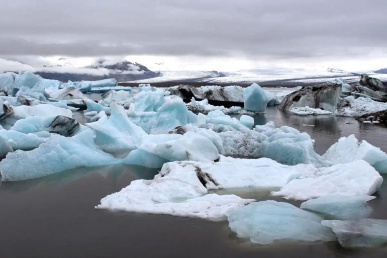 Verschiedenste Formen von Eis in der Jökulsárlón