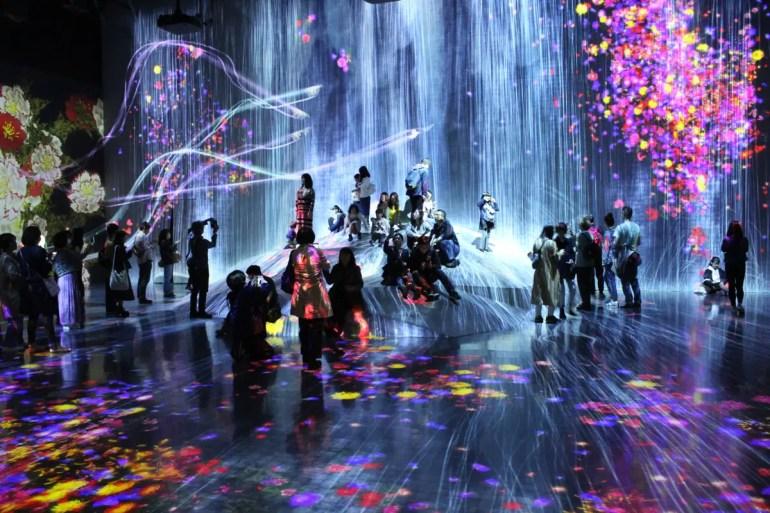 Beeindrucken: Die kreativen Räume im Mori Building Digital Art Museum