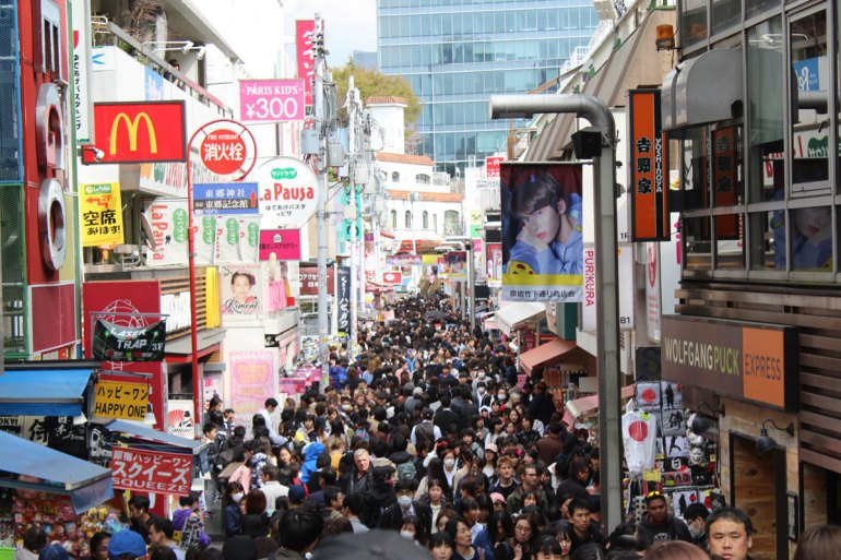 Tokios verrückteste Straße: die Takeshita-dori in Harajuku
