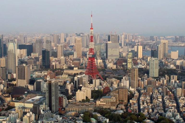 Tokio City View: einer der besten Ausblicke auf die Stadt