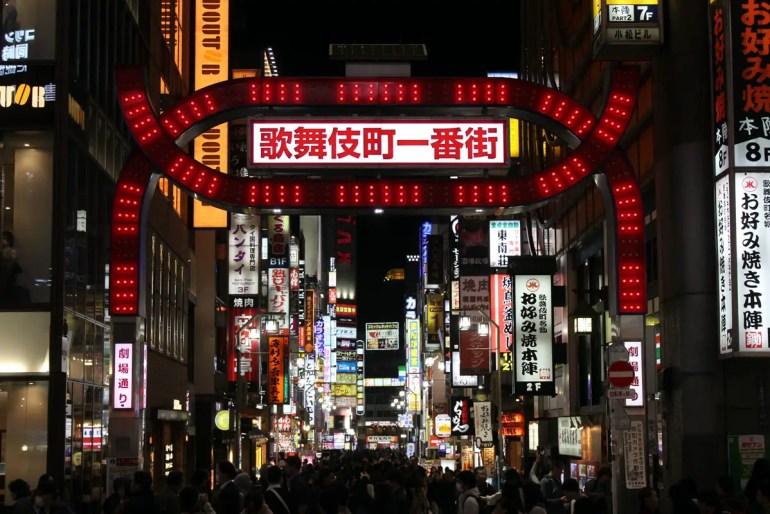 Amüsierviertel: Kabukicho in Shinjuku