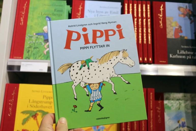 Astrid Lindgrens Kinderbuchklassiker findest du auch heute noch überall in Schweden