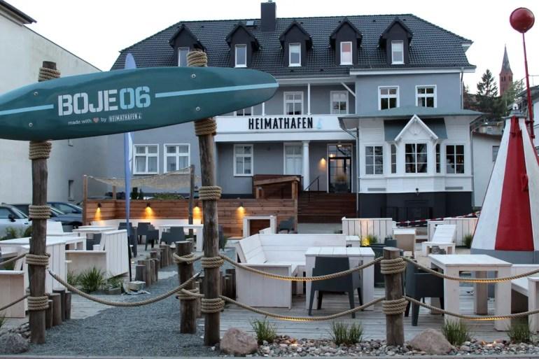 Altes Haus mit neuem Styling: das Hotel Boje 06 in Heringsdorf