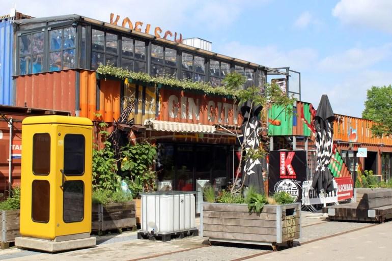 Bunt und kreativ: die Bars und Cafés im Werksviertel Mitte