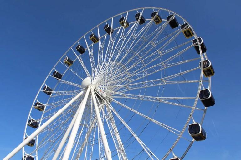 Vom Riesenrad Hi-Sky hast du einen tollen Blick über die Stadt