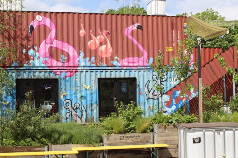 Urban Gardening mitten im Container Collective