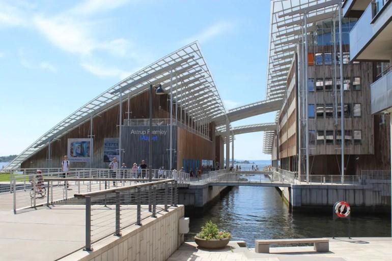 Ein Ziel für Kunstfans: das Astrup Fearnly Museum