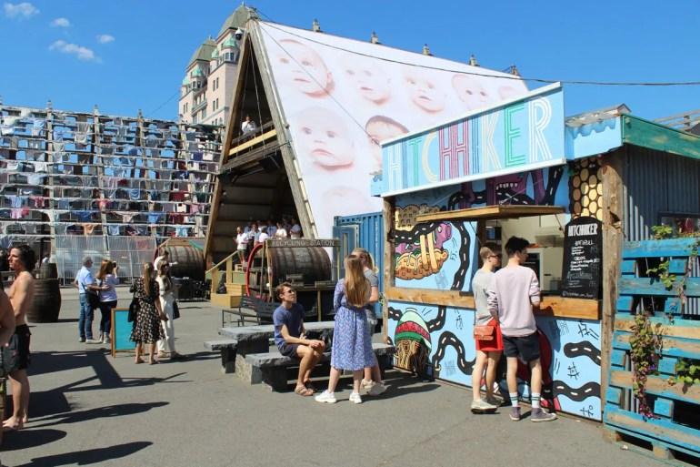 Im Salt trifft Kunst auf Streetfood