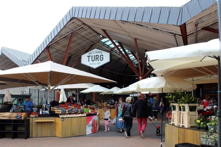 Tallinns Markthalle Balti Jaama Turg