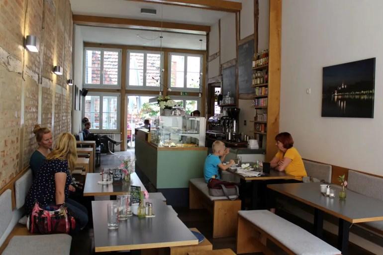 Gemütlich und vegetarisch: Das Müllers direkt neben dem Dom